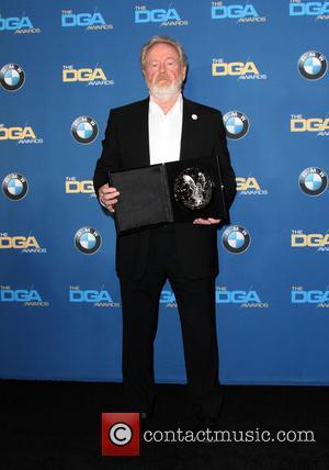 Director Ridley Scott - 68th Annual DGA Awards 2016 held at the Hyatt Regency Century Plaza - Press Room at...