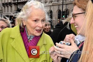 Dame Vivienne Westwood - Junior Doctors Protest, Waterloo Place, London at Waterloo Place - London, United Kingdom - Saturday 6th...