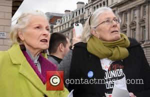 Dame Vivienne Westwood and Vanessa Redgrave