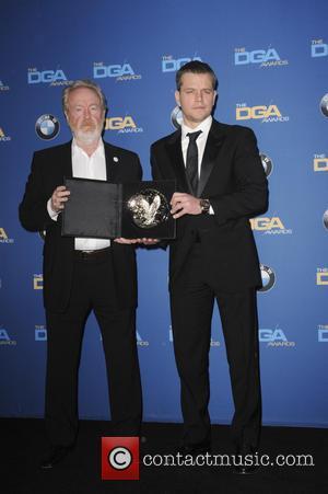 Ridley Scott and Matt Demon