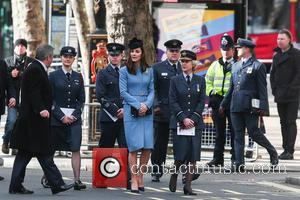 Catherine Duchess of Cambridge , Kate Middleton - Catherine, Duchess of Cambridge attends a service to commemorate the 75th anniversary...