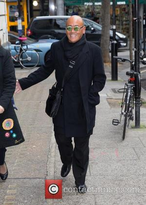 Ken Hom OBE - Ken Hom OBE pictured arriving at the Radio 2 studio at BBC Western House - London,...