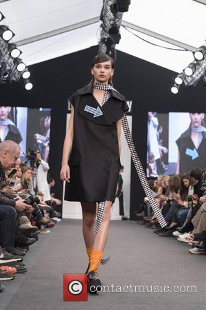 Model - Madrid Fashion Week Spring/Summer 2016 - Moises Nieto - Catwalk - Madrid, Spain - Monday 8th February 2016