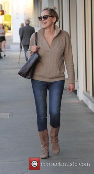 Sharon Stone - Sharon Stone out and about running errands at beverly hills - Los Angeles, California, United States -...