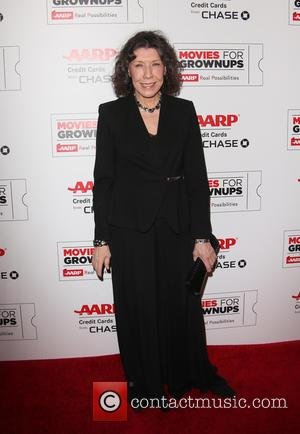 Lily Tomlin - AARP's Movie For GrownUps Awards at the Beverly Wilshire Four Seasons Hotel - Beverly Hills, California, United...