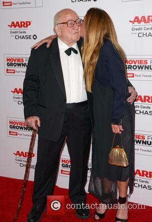 Ed Asner and Liza Asner