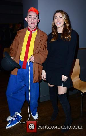 Clown (cast) , LUISA ZISSMAN - Cirque Berserk opening night at the Peacock Theatre - Arrivals - London, United Kingdom...