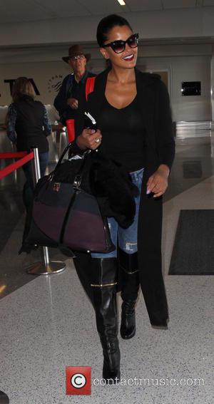 Claudia Jordan - Claudia Jordan departs on a flight from Los Angeles International Airport (LAX) - Los Angeles, California, United...