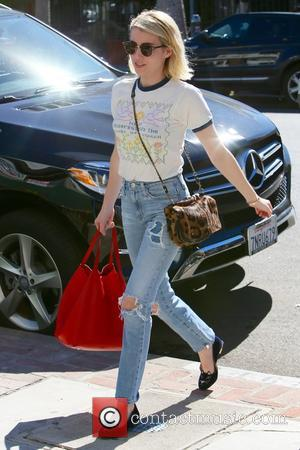 Emma Roberts - Emma Roberts seen shopping on Melrose Place at West Hollwood - Los Angeles, California, United States -...