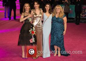 Leslie Mann, Dakota Johnson, Alison Brie , Rebel Wilson - The European Premiere of 'How To Be Single' held at...