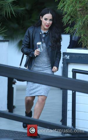 Stephanie Davis - Stephanie Davis outside ITV Studios - London, United Kingdom - Tuesday 9th February 2016