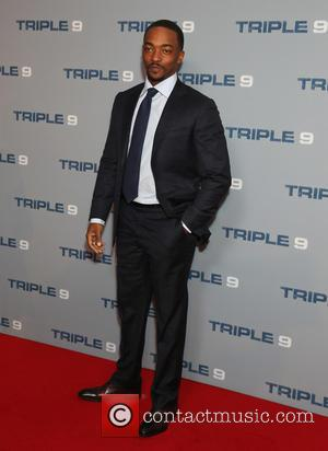 Anthony Mackie - UK Special Screening of Triple 9 at Ham Yard Hotel in London. at Ham Yard Hotel, -...