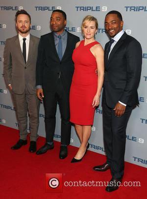 Aaron Paul, Chiwetel Ejiofor, Kate Winslet and Anthony Mackie