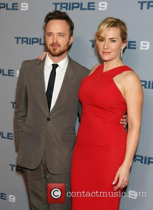 Aaron Paul and Kate Winslet