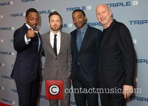 Anthony Mackie, Aaron Paul, Chiwetel Ejiofor and John Hillcoat