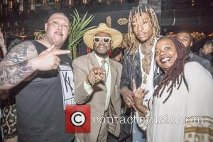 Wiz Khalifa, Bishop Don Magic Juan and Peaches Wimbush