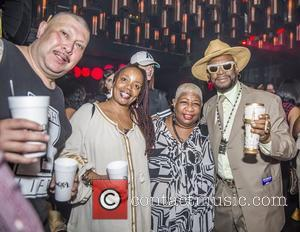 Bishop Don Magic Juan, Peaches Wimbush and Luenell