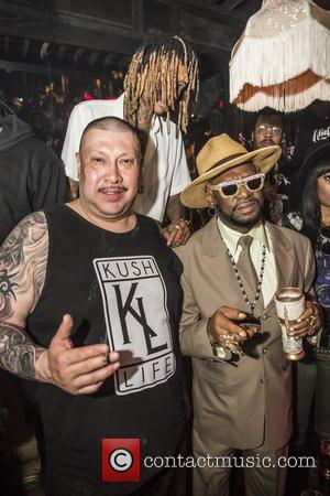 Bishop Don Magic Juan and Wiz Khalifa