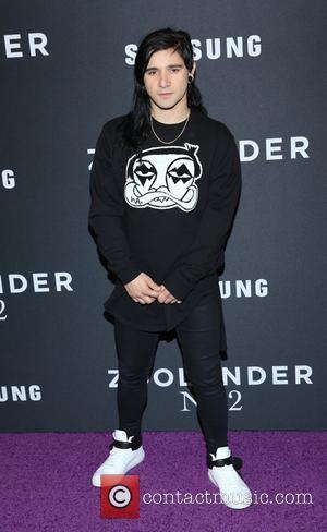 Skrillex - 'Zoolander 2' World Premiere at Alice Tully Hall - Arrivals - New York, New York, United States -...