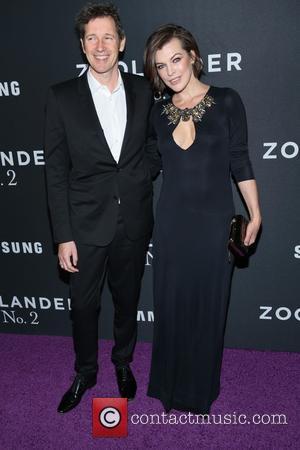 Paul W. S. Anderson and Milla Jovovich