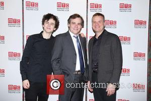 Timothée Chalamet, Robert Sean Leonard and Chris Mcgarry