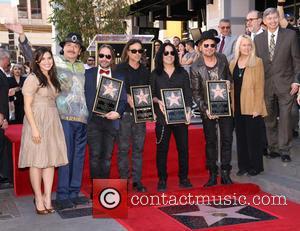America Ferrera, Carlos Santana, Alex Gonzalez, Sergio Vallin, Juan Calleros, Fher Olvera, Guest and Leron Gubler