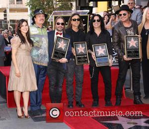 America Ferrera, Carlos Santana, Alex Gonzalez, Sergio Vallin, Juan Calleros and Fher Olvera