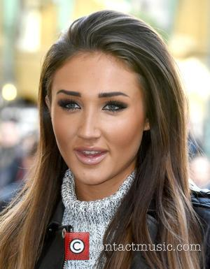 Megan McKenna - Celebrity Big Brother and Ex on the Beach star, Megan McKenna busking in Covent Garden Piazza, London...