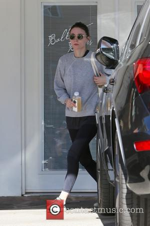 Rooney Mara - Rooney Mara seen leaving Ballet Bodies at West Hollwood - Los Angeles, California, United States - Wednesday...