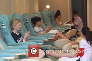 Selma Blair - Selma Blair was spotted getting her nails done on the day after the second episode of