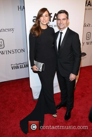 Ingrid Vandebosch and Jeff Gordon