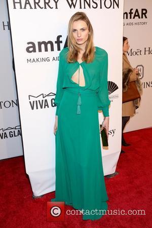 Andreja Pejic - 2016 amfAR New York Gala - Red Carpet Arrivals - New York, New York, United States -...