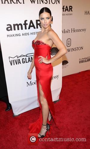 Adriana Lima - 2016 amfAR New York Gala - Red Carpet Arrivals - New York, New York, United States -...