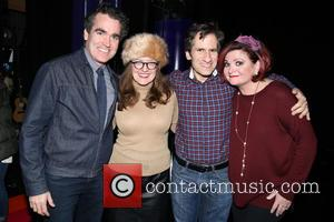 Brian D'arcy James, Jennifer Simard, Seth Rudetsky and Faith Prince