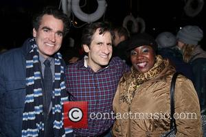 Brian D'arcy James, Seth Rudetsky and Lacretta Nicole