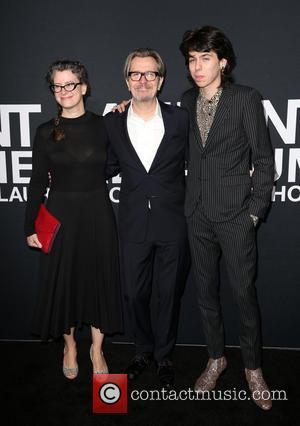 Gisele Schmidt, Gary Oldman and Charlie Oldman