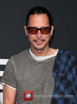 Chris Cornell - Saint Laurent at Hollywood Palladium - Arrivals at The Palladium - Hollywood, California, United States - Wednesday...