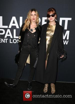 Scout Willis and Tallulah Willis