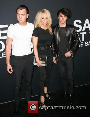 Brandon Lee, Pamela Anderson and Dylan Lee