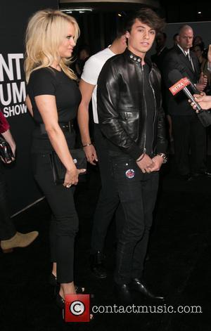 Pamela Anderson and Dylan Lee