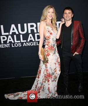 Elle Evans and Matt Bellamy