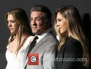 Sistine Stallone, Sylvester Stallone and Sophia Stallone