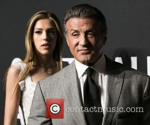 Sistine Stallone and Sylvester Stallone