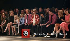 Justin Bieber , Joan Jett - Saint Laurent at Hollywood Palladium - Fashion Show at The Hollywood Palladium - Los...
