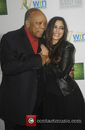 Xriss Jor , Quincy Jones - 17th Annual Women's Image Awards at Royce Hall - Arrivals - Los Angeles, California,...