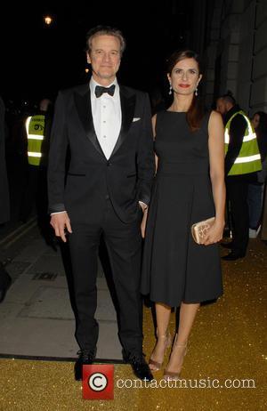 Colin Firth , Livia Giuggioli - BAFTAs: BAFTA fundraising gala dinner & auction at BAFTA - London, United Kingdom -...