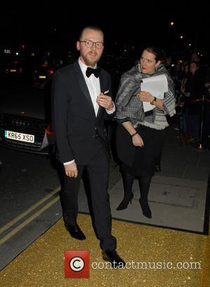 Simon Pegg - BAFTAs: BAFTA fundraising gala dinner & auction at BAFTA - London, United Kingdom - Thursday 11th February...