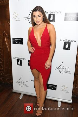 Abi Clarke - Guests attend Lady Nadia Essex's Valentine's Day Party at Ginger Martini - London, United Kingdom - Thursday...