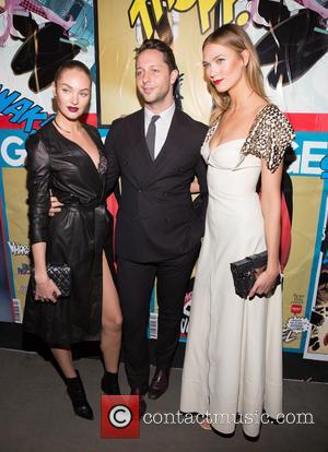 Candice Swanepoel, Derek Blasberg , Karlie Kloss - Garage Magazine Premier Party held in Soho - Arrivals - New York...