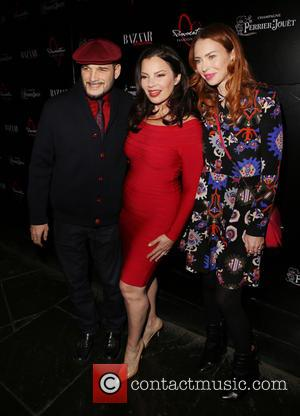 Philip Bloch, Fran Drescher and Guest